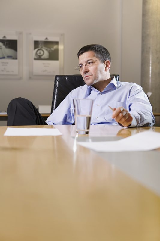 Herbert Hainer / CEO Adidas