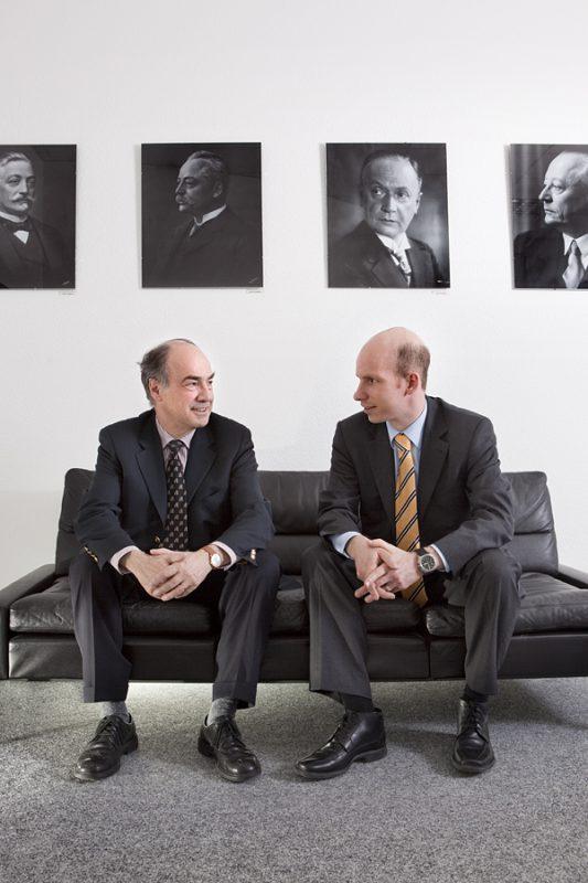Hans-Jochen & Hannes Steim / CEO Junghans